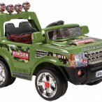 YJ139 / ARMY GREEN, SILVER / BATTERY 2*6V7AH
