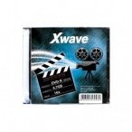 DVD-R Xwave 71653 Single Slim 4.7GB 16x