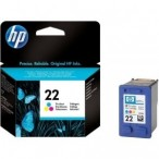 Cartridge HP No.22 C9352AE tri-c,D1460/D1560/D2460/J3680/F2180/F2280/F4180