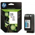 Cartridge HP No.23 C1823DE tri-color, 30ml 710/720/880/890/895/1120/1170/815/810
