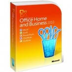 Office 2010 Home and Business EN, 32/64bit non-EU/EFTA DVD FPP (T5D-00361)