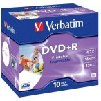 DVD-R  4,7 GB 16x printable Box