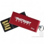 ''USB Flash Disk 8GB Patriot Swing Red, USB2.0/PSF8GSRUSB