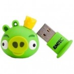 USB flash Disk EMTEC A101 4GB Zeleno prase