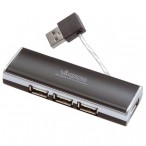 HUB USB 2.0 4 Vivanco Notebook