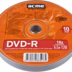 DVD-R 4.7GB 16x, Acme 1/10 celofan