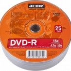 DVD-R 4.7GB 16x, Acme 1/25 celofan
