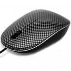 Input Devices - Mouse PRESTIGIO PMSO03 (Cable, Optical 1000dpi,3 btn,USB), Black