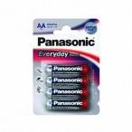 PANASONIC baterije  LR6EPS/4BP- AA 4 kom Alkalne Everyday