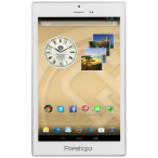 PRESTIGIO MultiPad Color 7.0 3G (7.0'' IPS,1280x800,16GB,Android 4.2,QC1.3GHz,1GB,3500mAh,2MP,BT,NFC,GPS,FM,Phone,3G,Pouch) White Retail