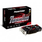 'AMD Radeon R9 270X Powercolor TurboDuo 2GB, DVI/HDMI/AXR9 270X 2GBD5-TDHE/OC