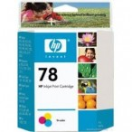 Cartridge HP No.78 C6578D tri-color, 19ml 930/940/950/970/990/1220/1125/3820