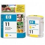 Cartridge HP No.11 C4838A yellow, DesignJet 70/100/110/OJ Pro K850, Buss.1000