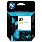 Cartridge HP No.82 CH568A yellow, DesignJet 500/800/120/815mfp, 28ml