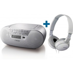 Radio-CD Player Sony ZSPS30CPW + ZX110 - CD radio kasetofon