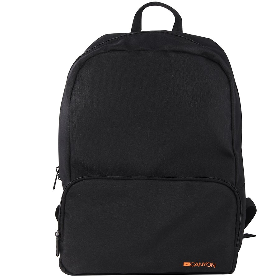 CANYON CNE-CNP15S1B Practical backpack for walk, sport and every day. Color black. Main compartment with small zipper pocket on the front for your essential accessoriesMade of durable materials - Školski rančevi i torbe