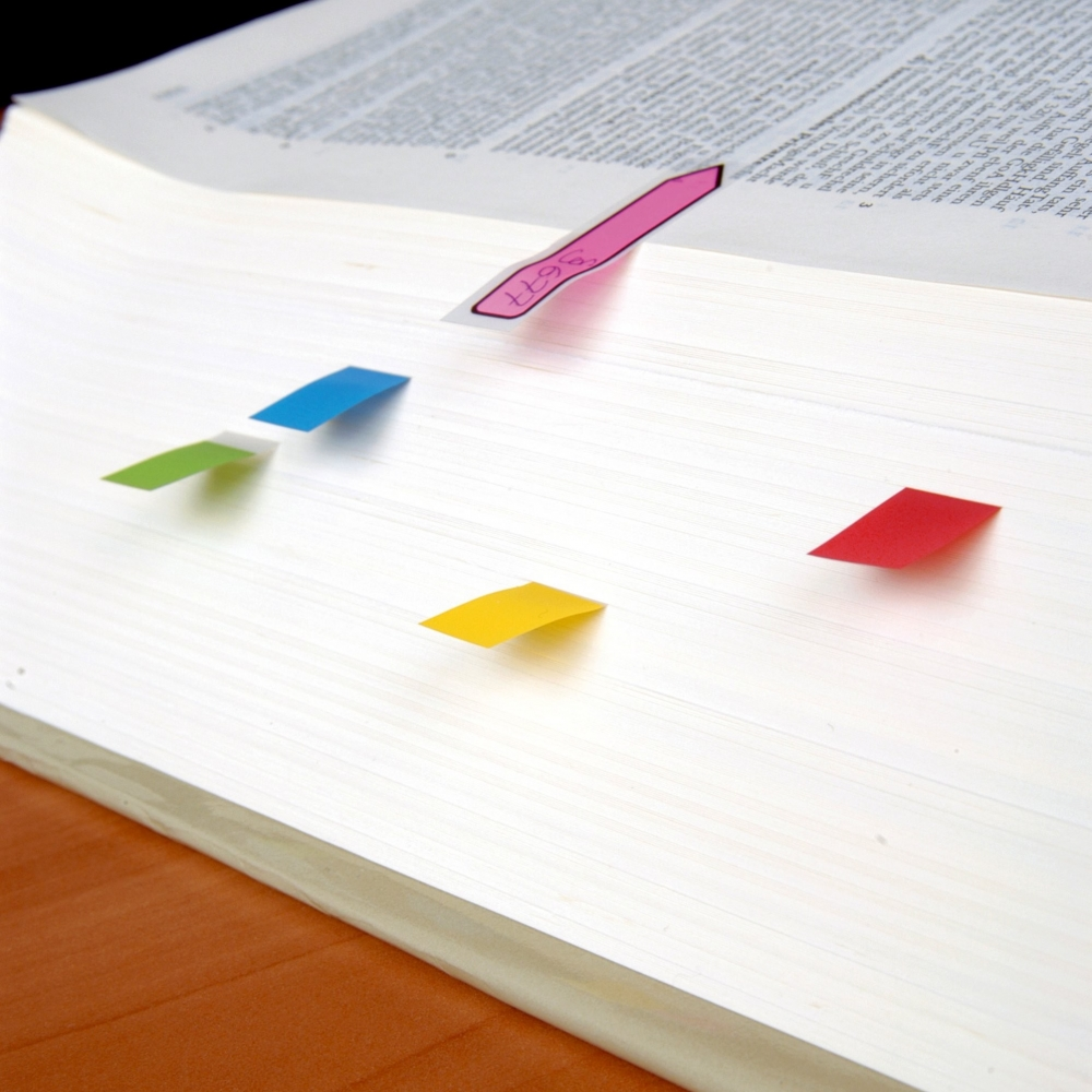 Post-it index 683-4, 35 listića x 4 boje - Page marker