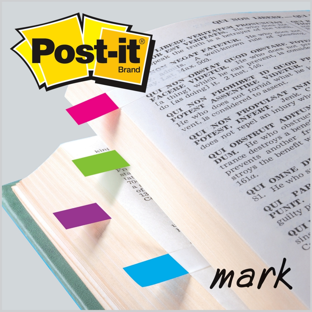 Post-it index 683-4AB Fluo, 35 listića x 4 boje - Page marker