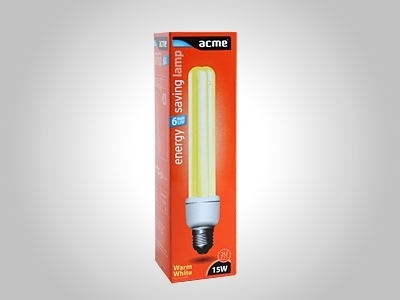 ACME energy saving lamp 2U15W6000h827E27