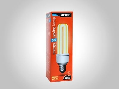 ACME energy saving lamp 3U20W6000h827E27
