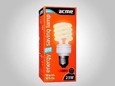ACME energy saving lamp Spiral 23W8000h827E27