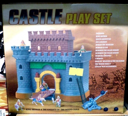 CASTLE play set - zamak