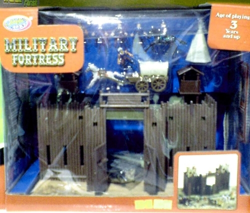 Military fortress - zamak set