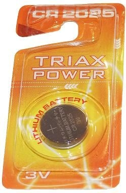 BAT TRIAXPOWER Litijum CR2025