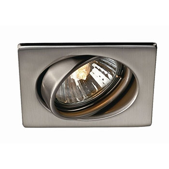 QUARTZ recessed nickel 3x50W 230V - Ugradne lampe