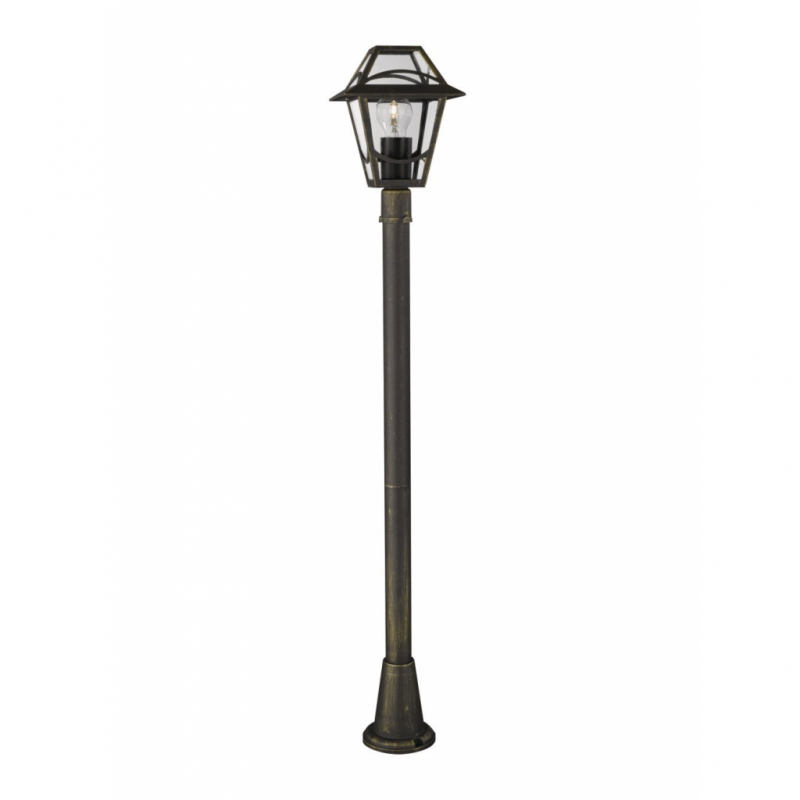 BABYLON post BlackBrush 1x60W 230V - Podne lampe