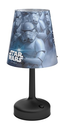 table lamp-Stormtrooper-Black - Stone lampe