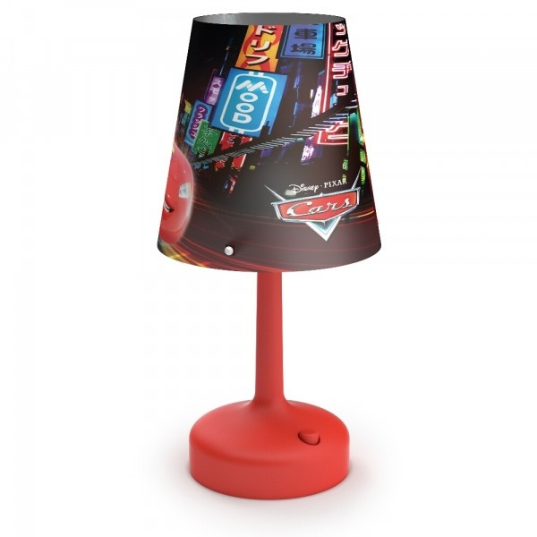 table lamp-Cars-Red - Stone lampe