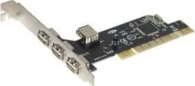 KONTROLER PCI GC USB 2.0 Card 3+1