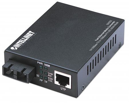 Intellinet FE Media Converter, 10/100Base-TX to 100Base-FX (SC) MM 2km - Mrežna oprema