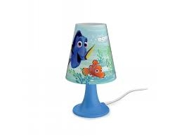 Finding Dory table lamp blue 1x2.3W SELV - Ukrasne Lampe
