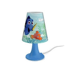 DIS-Finding Dory-table lamp-Blue - Ukrasne Lampe