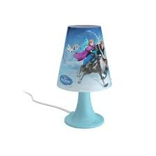 Frozen table lamp blue 1x2.3W SELV - Ukrasne Lampe