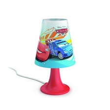 Cars table lamp red 1x2.3W SELV - Ukrasne Lampe