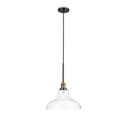 HASTINGS pendant clear 1x60W 230V - Ukrasne Lampe