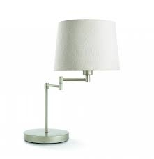 Beauvais table lamp nickel 1x6W 230V - Ukrasne Lampe