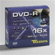 DVD-R 16X SLIM BOX 5