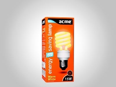 ACME energy saving lamp Spiral 15W8000h827E27