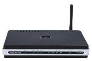 DLink Wireless ADSL modem Router DSL-2641B (AnnexB)