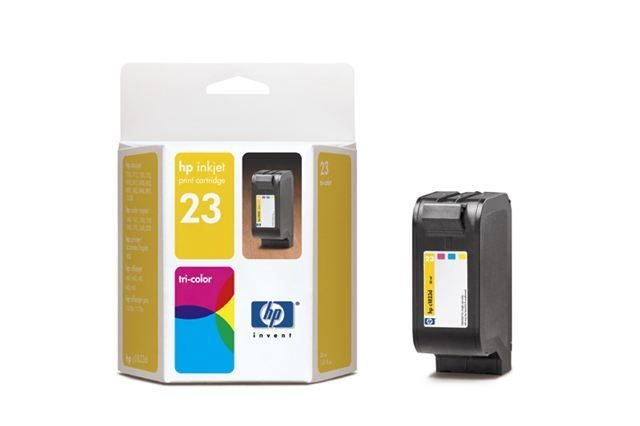 SUP HP INK C1823DE (No.23) CYAN/YELLOW/MAGENTA