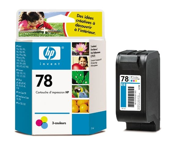 SUP HP INK C6578DE (no. 78) TRICOLOR