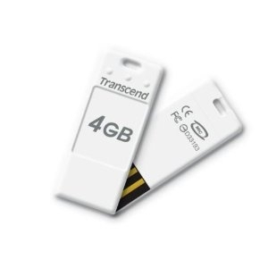 USB FD 4GB TRANSCEND Jet Flash TS4GJFT3W