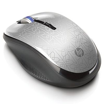 NOT DOD HP MOUSE Wireless Optical Silver, WE790AA