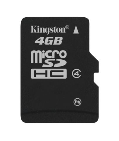 MICRO SD 4GB KINGSTON bez adaptera SDC4/4GBSP