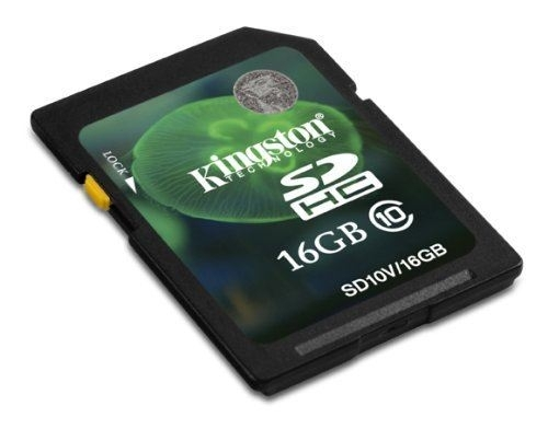 SECURE DIGITAL CARD 16GB KINGSTON SD10V/16GB