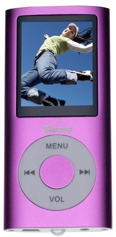 MP4 PLAYER Xwave S-48 Purple